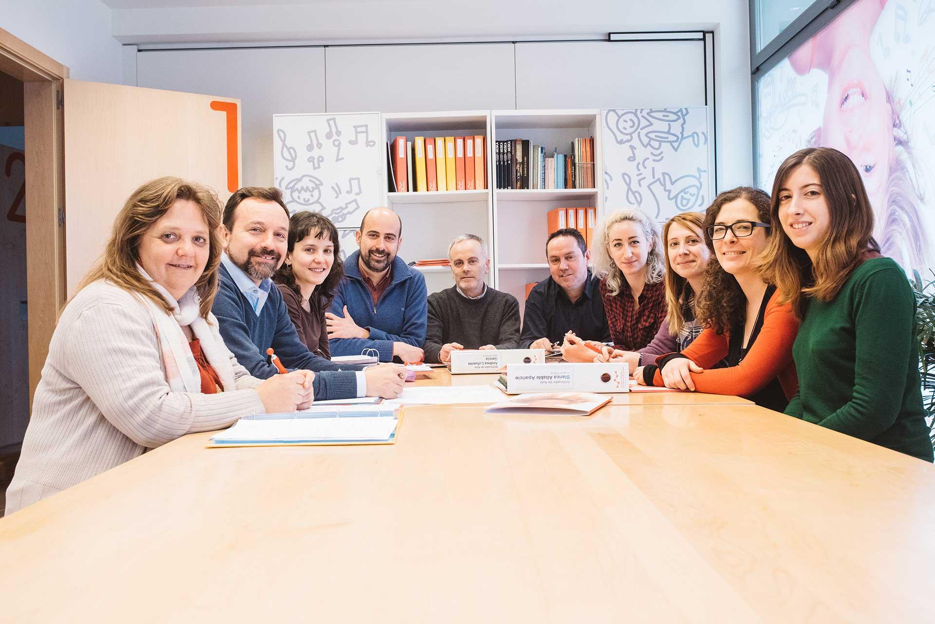 Equipo docente Escuela Intergral de Musica Burgos